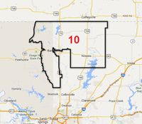 Oklahoma House Of Representatives District 10