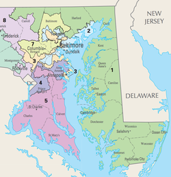 Marylands 1st Congressional District Ballotpedia