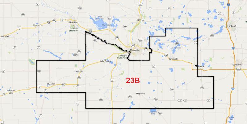 Minnesota House District 23B