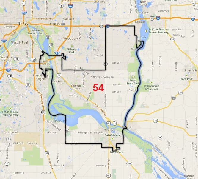 Minnesota Senate District 54